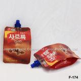Fabricante Wholesale Stand up Drink / Juice / Liquid Pouch, Embalagem de plástico Bolsa personalizada com bocal
