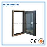 Roomeye 분말 입히는 알루미늄 단면도 여닫이 창 Windows