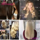 100% Dica de cabelo humano em Remy Hair Extensions peruvian