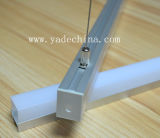 17mm Aluminum LED Profile für Pendant Suspended Light Available mit Opal Matte Diffuser Cover