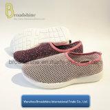 網の甲革(ES191723)が付いている通気性の偶然のスポーツの靴