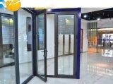 Раздвижная дверь покрытия порошка экономии алюминиевая (BHA-DS01)