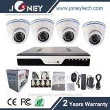 Infrarothauptinstallationssatz und Ahd Camrea des Surveillace Systems-CCTV mit DVR