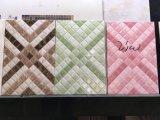 Dekoratives porzellan-Küche-Wand-Fliese des Tintenstrahl-3D Rasterfeld glasig-glänzende Polier