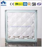 Кирпич ясности 190X190X80mm драгоценности блока Jinghua стеклянный стеклянный/блок