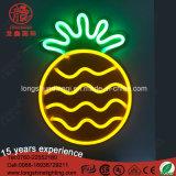 LED USB para pendurar na parede do ananás operada por sinal de néon da luz