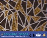 Тисненые полиэфирные волокна плата для установки на потолок или стену звукоизолирующие панели