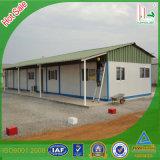 Vorfabriziertes Haus mit hellem Stahlkonstruktion-Träger für lebendes Haus