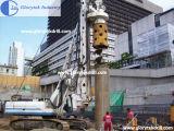 los 50m Mini Piling Rig YTR100 Rotary Drilling Rig para Foundation Work