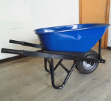 Straight Handle Heavy Duty Farm Construction Wheelbarrow