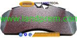 トラックの部品、ブレーキ部品のためのBPWブレーキパッドFcv1677b/Fcv1678b