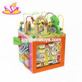 Новые Самые интеллектуальные деревянные Cube игрушки для малышей деятельности весело W12D048b