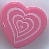 Tasto dei bambini di figura del cuore (CD-058)