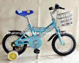 12 인치 바구니 킬로 비트 037를 가진 파란 아이 자전거