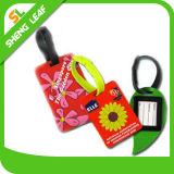 Nach Maß Firmenzeichen Belüftung-Gummigepäck-Marke (SLF-LT024)