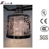 Chine Discount Classique Black Metal Hollow Hanging Crystal Chandelier