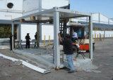 Casa de contenedores modulares prefabricadas como la construcción de viviendas