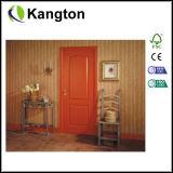 Porta moldada HDF econômica do interior (porta moldada HDF)