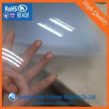 빛나는 인쇄를 위한 곡물에 의하여 돋을새김되는 명확한 엄밀한 PVC 장
