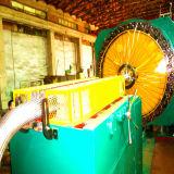 Máquina inoxidável horizontal da trança do fio de aço para a mangueira do metal