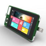 Nouvelles 2017 de 5 pouces robuste industrielle 4G d'empreintes digitales d'Android Tablet PC avec lecteur de codes à barres NFC BH702