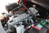 3ton Diesel van de Motor van Japan Vorkheftruck met ZijDraaier