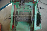 Niedriger Preis-hohe Kapazitäts-einzelner Stacheldraht, der Maschine herstellt