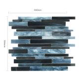 Azulejo de mosaico de cristal de la nueva del color oscuro pared del cuarto de baño