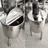 Les mesures sanitaires de la crème glacée haut de mélangeur de cisaillement de l'émulsifiant cuve de mélange à liquides