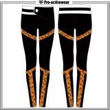 I pantaloni su ordinazione di yoga degli abiti sportivi della fabbrica dell'OEM hanno stampato le ghette