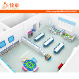 Dimensões ambientais da mobília do jardim de infância para miúdos