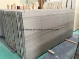 Marmo di legno di cristallo grigio della vena di vendita diretta della cava