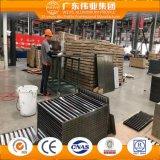 Chinesischer Lieferanten-thermischer Bruch-schiebendes Aluminiumfenster