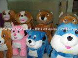 животные езды kiddie гуляя для торгового центра