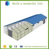 La Birmanie 7200m² d'acier de grande portée de l'atelier de fabrication de disposition de l'entrepôt de stockage