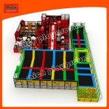Enfants Rectangulaire Mini Trampoline pour parc d'attractions