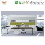 Qualitäts-hölzerner Büro-Tisch-/Computer-Schreibtisch-Entwurf mit Fach