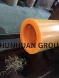 Los tubos de poliamida nylon/amarillo