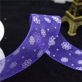 Il marchio su ordinazione ha stampato il nastro elastico del raso per il contrassegno dell'indumento