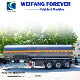 永久にアルミ合金オイルまたは燃料またはガソリンオイルタンクまたはタンク車のトレーラー