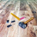 pavimentazione dell'interno impermeabile del vinile di 7.5mm WPC