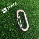 Resorte Carabiner del gancho de leva del broche de presión de la seguridad del regalo de la promoción para Keychain