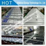 12W de haute qualité économique Feu de route de plein air de village solaire Rue lumière à LED