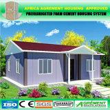 Casa prefabricada de la casa prefabricada modular de llavero del envase para Familary