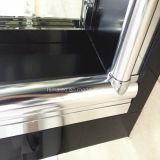 Artículos sanitarios marco de aluminio de ducha de ducha deslizante (H007B)