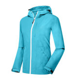 O clássico de mulheres Windbreaker respirável leve PACKABLE JACKET Quick Dry