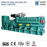 2500kVA Googol 엔진 Hgm2752를 가진 디젤 엔진 발전기 세트
