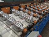 Rodillo de acero esmaltado del azulejo que forma el rodillo del panel de la máquina/arriba del material para techos de la costilla que forma la máquina del panel de la máquina/de la azotea