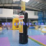 عملاقة قابل للنفخ يعلن زجاجة نموذج/قابل للنفخ يعلن زجاجة نموذج لأنّ عرض