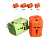 Fachmann kundenspezifischer Arbeitsweg-Adapter mit USB-Aufladeeinheit (HS-T107DU)